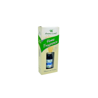 Difuzor de parfum Aroma Land Home Fragrance Soft touch, aroma discreta, sticluta ulei parfumat 125 ml + betisoare lemn