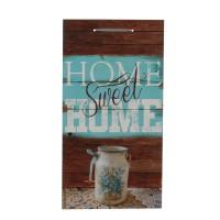 Tablou, cu mesaj, lemn, 48 x 25.5 cm
