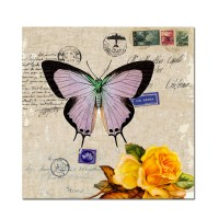 Tablou TA14-PA1442, Scrisoare cu timbre, canvas, 40 x 40 cm