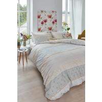 Lenjerie de pat, 2 persoane, Millie yellow, bumbac 100%, 4 piese, multicolor