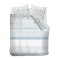 Lenjerie de pat Mary Lou, 2 persoane, bumbac 100 %, model floral, 4 piese