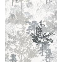 Tapet netesut, model arbori, Marburg Novamur Alize 81792, 10.05 x 0.53 m
