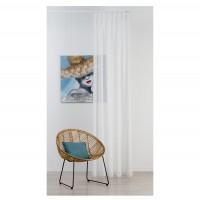 Perdea Mendola Fabrics, model Lolita, Archiline, natur, alb, H 290 cm