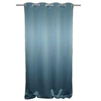 Draperie Blackout, 100% poliester, albastru, l 135 cm, H 245 cm