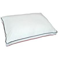 Perna pentru dormit Bumbac Duo bumbac + poliester si silicon alb 50 x 70 cm