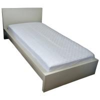 Protectie saltea matlasata memory, alb, poliester, 160 x 200 cm