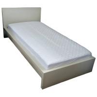 Protectie saltea matlasata memory, alb, poliester, 180 x 200 cm