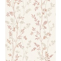 Tapet fibra textila, model floral, Grandeco Natural Forest NF3108, 10 x 0.53 m
