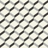 Tapet fibra textila, model geometric, Rasch 938302, 10 x 0.53 m