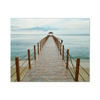Tablou, peisaj marin, canvas, 20 x 25 cm