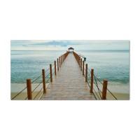 Tablou, peisaj marin, canvas, 20 x 40 cm