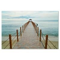 Tablou, peisaj marin, canvas, 20 x 30 cm