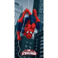 Prosop plaja Disney Spiderman, poliester, multicolor, 70 x 140 cm