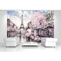 Fototapet duplex Springtime in Paris 11470P4 254 x 184 cm