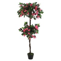 Floare artificiala JWT2515, roz, 140 cm