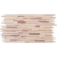 Panou decorativ Ornamental Timber Oak, PVC, maro, 95.3 x 47.8 cm, 0.4 mm