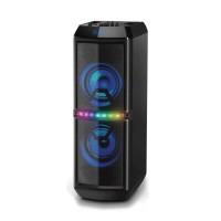 Boxa activa Akai ABTS-82, 60 W, Bluetooth, USB, Aux in, karaoke, radio FM, negru, telecomanda