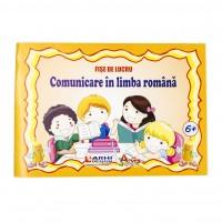 Caiet special, Comunicare in limba romana, cu fise de lucru, 24 file, peste 6 ani