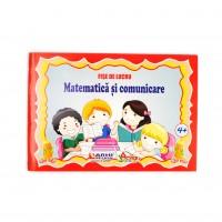 Caiet special, Matematica si comunicare, cu fise de lucru, peste 4 ani