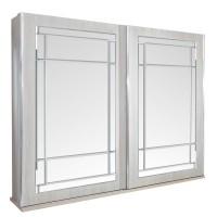 Dulap dormitor Opera L278/H230, ulm deschis, 2 usi glisante, cu oglinda, 278.5 x 62 x 230 cm, 10C