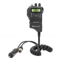 Statie radio auto CB Midland Alan 42 DS, cod C1267, 4 W, 12 V, squelch automat digital, putere emisie reglabila, Dual watch, blocare tastatura, scanare canale