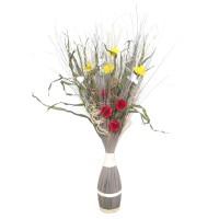 Flori uscate, 218 AR 8241, 100 cm, gri