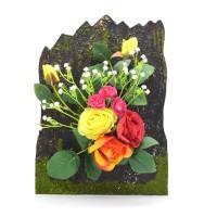 Floare artificiala D1099, diverse culori, 30 x 22 cm