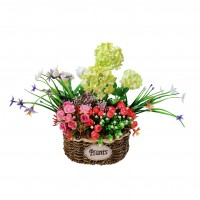 Flori artificiale LJXC-4, multicolore, 38 x 24 x 35 cm