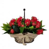 Flori artificiale TY1702001-3, rosii, 40 x 23 x 32 cm