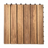 Dala lemn OT01 DB, exterior, 30 x 30 x 2.4 cm