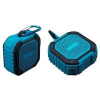 Boxa portabila activa Akai ABTS-B7, Bluetooth, 5 W, Aux in, Mic, TF, radio FM, albastru + negru