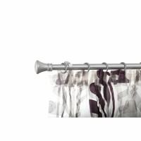 Galerie Tiara 32764, extensibila, metal, 25/22 mm, 120 - 220 cm, argintiu satinat