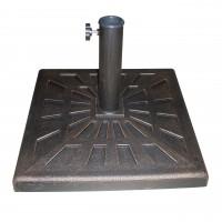 Suport umbrela TA-BB010, metal, forma patrata, 50.5 x 50.5 x 33 cm
