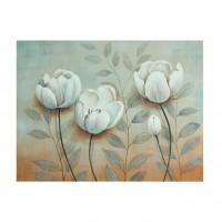 Tablou canvas 318 DED-189275, compozitie cu flori, pe panza, 60 x 80 cm