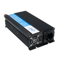 Invertor de tensiune PNI H1200W, 1200 W, intrare 24 V, iesire 230 V, USB 2.0 + priza 230 V