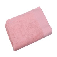 Prosop baie Spa Luxury, bumbac, roz, 80 x 140 cm