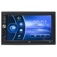Radio media player auto MP3 / MP4 / MP5 PNI V6270, 4 x 45 W, 2 DIN, Bluetooth, USB, MicroSD reader, Aux in, AV in, radio FM, display 7 inch, control touch, functie Mirroring, telecomanda