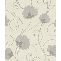 Tapet fibra textila, model floral, Rasch Selection 898514, 10 x 0.53 m