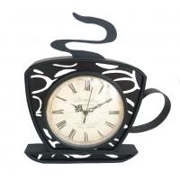 Ceas de perete KLM5045, analog, metal, diametru 16 cm