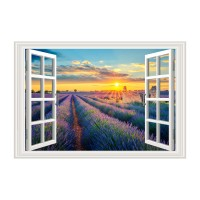 Tablou, compozitie cu peisaj, canvas, 50 x 70 cm