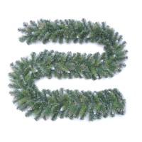 Ghirlanda Craciun G10-209TIN-YE, verde, 2.7 m