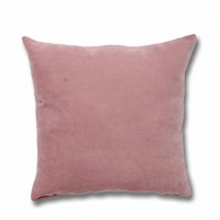 Perna decor Hazan 21, poliester + fibra poliester siliconizata, roz, 43 x 43 cm