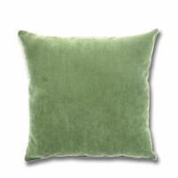 Perna decor Hazan 28, poliester + fibra poliester siliconizata, verde, 43 x 43 cm