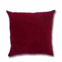 Perna decor Hazan 41, poliester + fibra poliester siliconizata, rosu, 43 x 43 cm