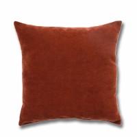 Perna decor Hazan 44, poliester + fibra poliester siliconizata, maro, 43 x 43 cm