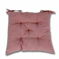 Perna scaun Hazan 21, poliester + fibra poliester siliconizata, roz, 43 x 43 cm