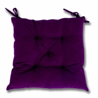 Perna scaun Hazan 47, poliester + fibra poliester siliconizata, mov, 43 x 43 cm