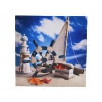 Tablou canvas TA18-PA11198, natura statica, pe panza, 40 x 40 cm