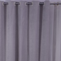 Draperie Linen Uni SX1716 Bej 25, poliester, bej, H 280 cm
