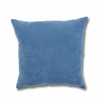 Perna decor Hazan 105, poliester + fibra poliester siliconizata, albastru, 50 x 50 cm